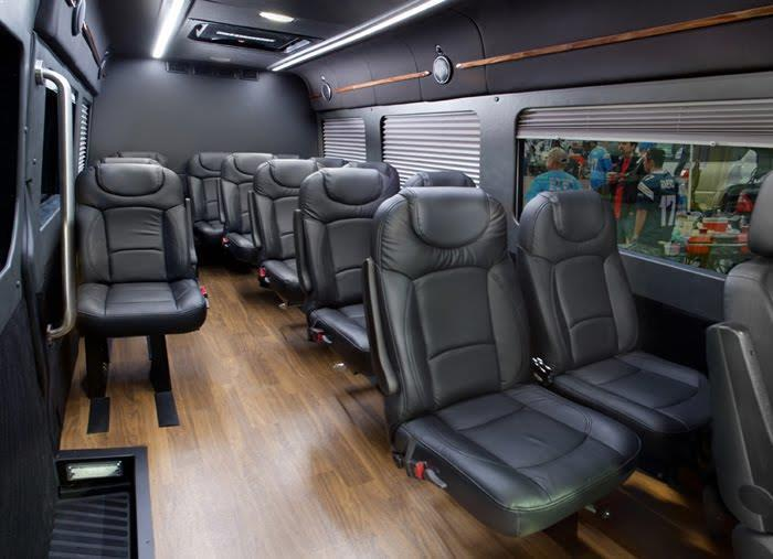 Mercedes Sprinter Interior San Francisco